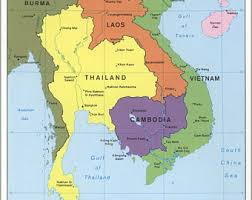 Karte Thailand Kambodscha.Thailand Kambodscha Vietnam Die Vorbereitungen Beginnen